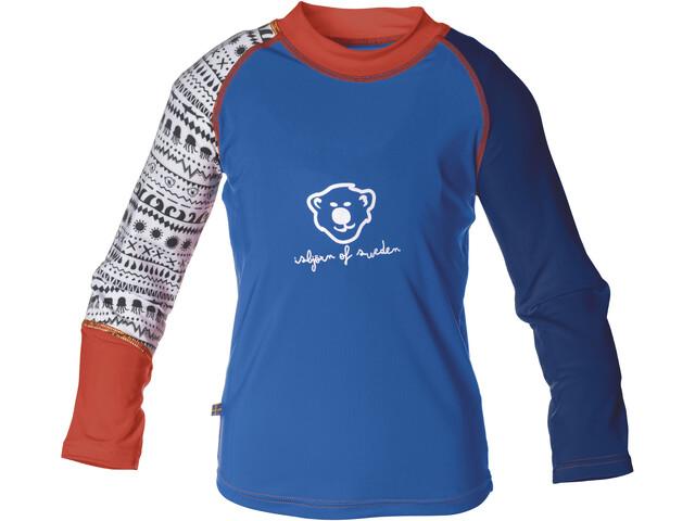 Isbjörn Sun - Camiseta de manga larga Niños - azul